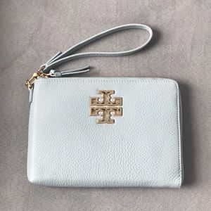 Tory Burch Britten Large Zip Pouch/Clutch